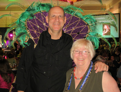 Nancy Raven Smith and Harlan Coben at Bouchercon